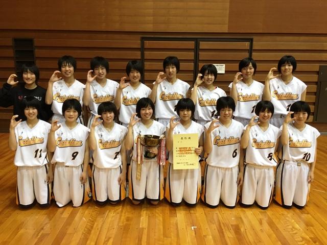 聖カタリナ女子高校(14年連続、21回目の優勝)