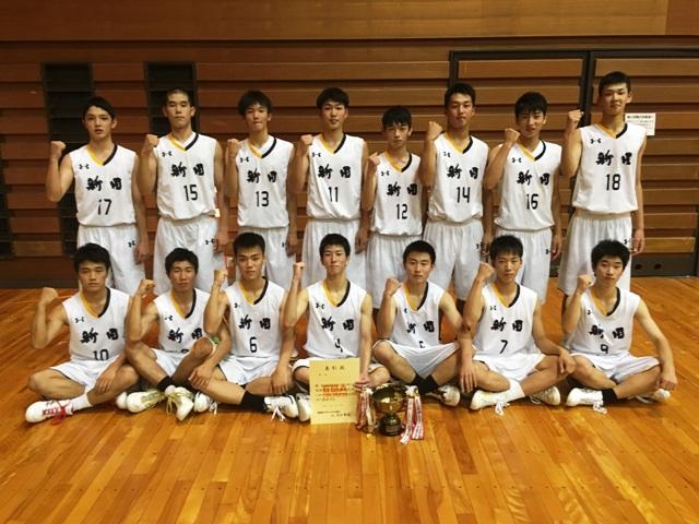新田高校(2年ぶり34回目の優勝)